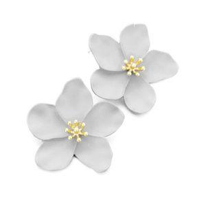 Fleur Earring Grey
